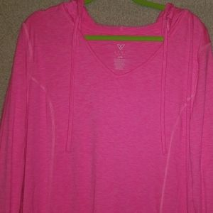 Livi Active pink hoodie 3x women